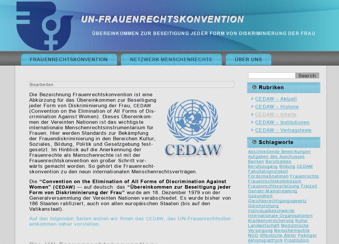 Frauenrechtskonvention