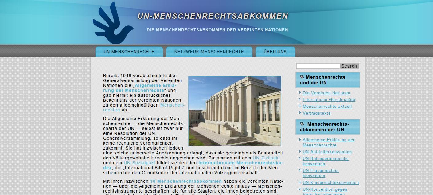 Die Vereinten Nationen und die Menschenrechte
