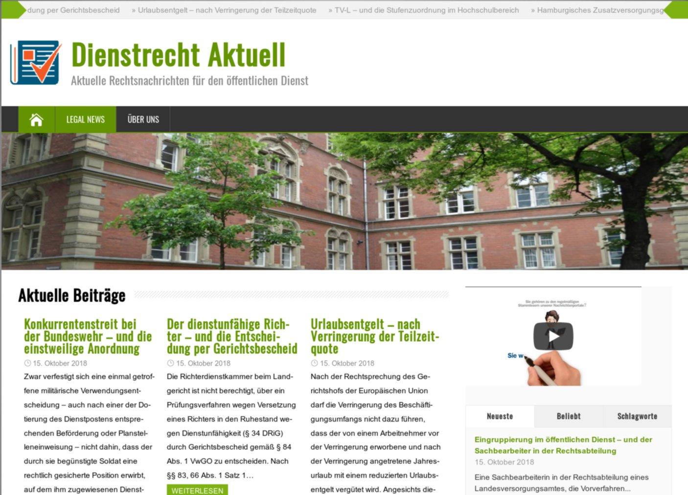 """""""Dienstrecht Aktuell"""""""