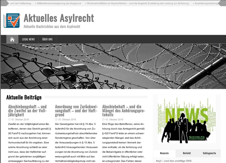 """""""Aktuelles Asylrecht"""""""