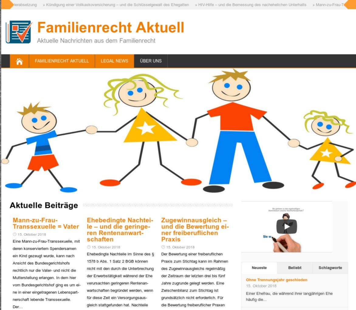 """""""Familienrecht Aktuell"""""""