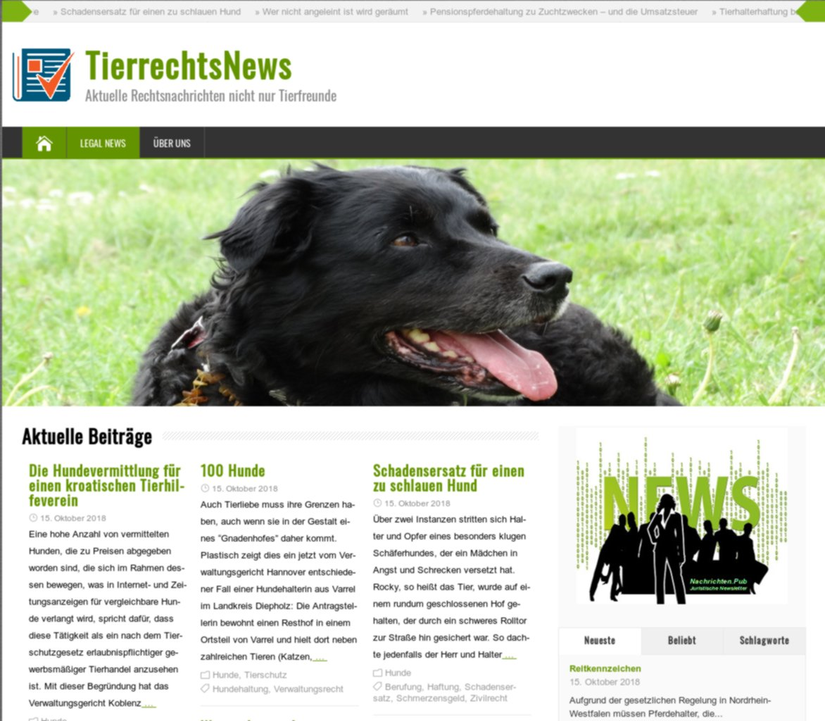 """TierrechtsNews"""
